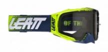 Мотоочки Leatt Goggle Velocity 6.5 Lime Blue Light Grey 58% (8021700320)