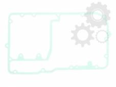 Прокладка крышки картера Athena S410250026009