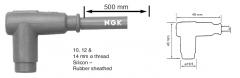 Колпачок свечи зажигания универсальный 90 с проводом 500мм NGK 8054 / CR4