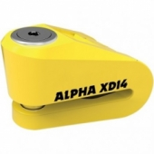 Мотозамок Oxford Alfa XD14 Yellow LK276