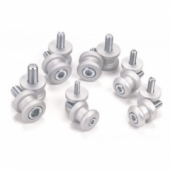 Упоры для подката Oxford Bobbins M8 (1.25 fine thread) BMW S1000RR Silver
