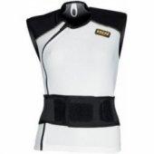 Мото жилет женский с защитой спины IXS CARAPAX White-Black DM