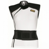 Жилет IXS CARAPAX White-Black DL