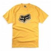 Футболка FOX Mischief s/s Tee Yellow XL