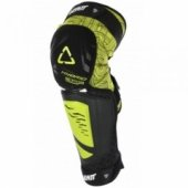 Мотонаколенники Leatt Knee and Shin Guard 3DF Hybrid EXT Black-Lime S-M