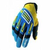 Мотоперчатки Shift Pro Strike Yellow-Blue M (9)