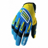 Мотоперчатки Shift Pro Strike Yellow-Blue XL (11)