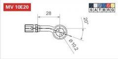Фитинг LUCAS MV10E20T