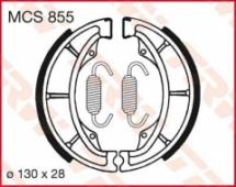 Колодки тормозные барабанные LUCAS MCS855