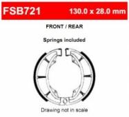 Колодки тормозные барабанные Ferodo FE FSB721EF