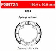 Колодки тормозные барабанные Ferodo FSB725