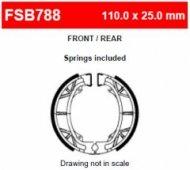 Колодки тормозные барабанные Ferodo FSB788