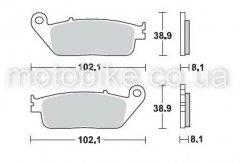 Колодки тормозные Braking BR 716SM1
