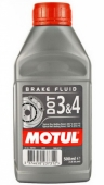 Тормозная жидкость Motul DOT 3&4 Brake Fluid 1L