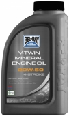 Масло моторное Bel-Ray V-TWIN MINERAL ENGINE OIL 20W-50 1L
