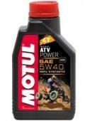 Масло моторное Motul ATV POWER 4T 5W-40 - 1 литр