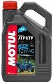Масло моторное Motul ATV-UTV 4T 10W40 - 4 литра
