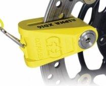 Противоугонный замок на диск Oxford Alfa XD14 Yellow LK276