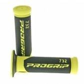 Ручки руля PROGRIP 732 SUPERBIKE YELLOW (PA073200GI02-299)