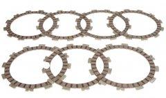 Диски сцепления фрикционные SUZUKI VS600 94-97, DR650 90-95, SV650 99-02, VS750 86-91, VL800 01-17, VS800 92-03, VX800 90-96, VZ 800 97-13(TCS3377)
