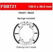 Тормозные колодки FERODO FSB721A