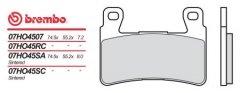 Brembo 07HO45SC - передние тормозные колодки для агрессивной езды и соревнований