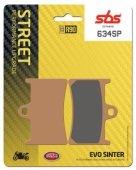 Комплект дисковых тормозных колодок SBS 634SP для мотоцикла
