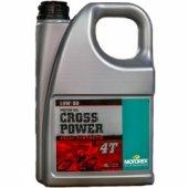 Масло моторное Motorex Cross Power 4T 10W50 4 литра