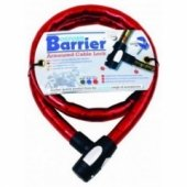 Трос противоугонный Oxford Barrier Armoured Cable Lock Red