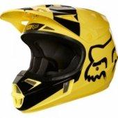 Мотошлем детский FOX Youth V1 Mastar Helmet Ece Yellow L