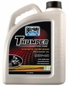 Масло моторное Bel-Ray THUMPER RACING SYNTHETIC ESTER 4T 10W-40 4L