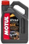 Масло моторное Motul ATV-SxS POWER 4T 10W-50 - 4 литра