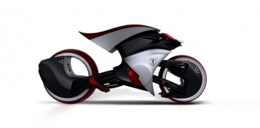 Мотоцикл Tesla E-Max: футуристичные технологии на страже экосистемы