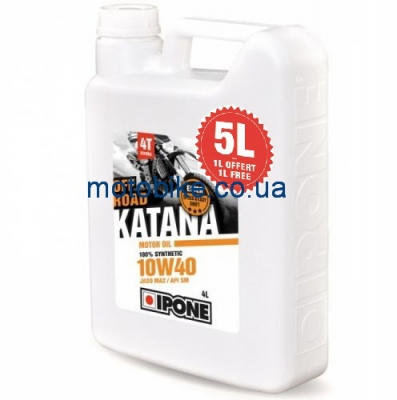 Масло моторное IPONE Katana Off Road 10W40 5L