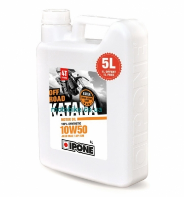 Масло моторное IPONE Katana Off Road 10W50 5L