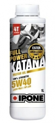 Масло моторное IPONE Full Power Katana 5w40 1 литр