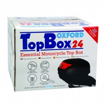 Кофр мотоциклетный Oxford Top Case Black 24L